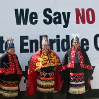 First Nations Leaders Protest Tankers and Pipeline